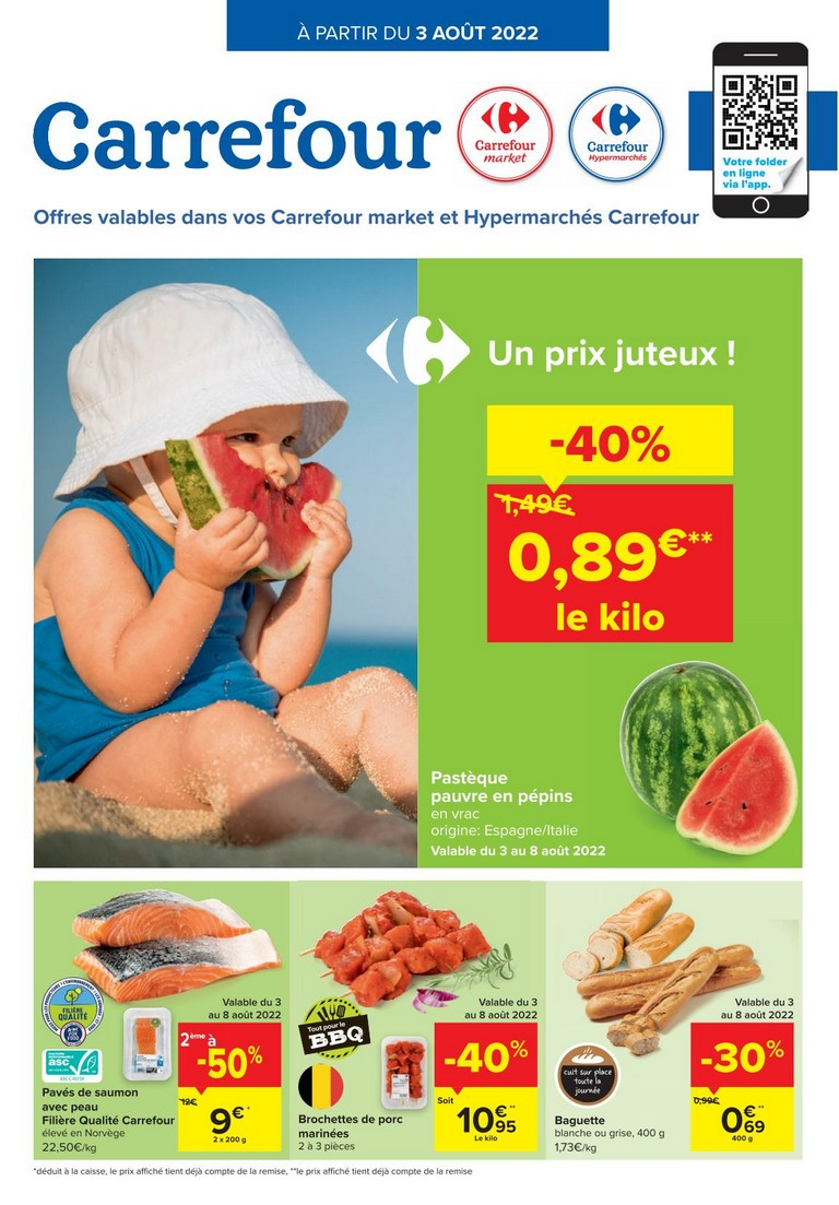 Carrefour Offres 21-10-2020 - 02-11-2020