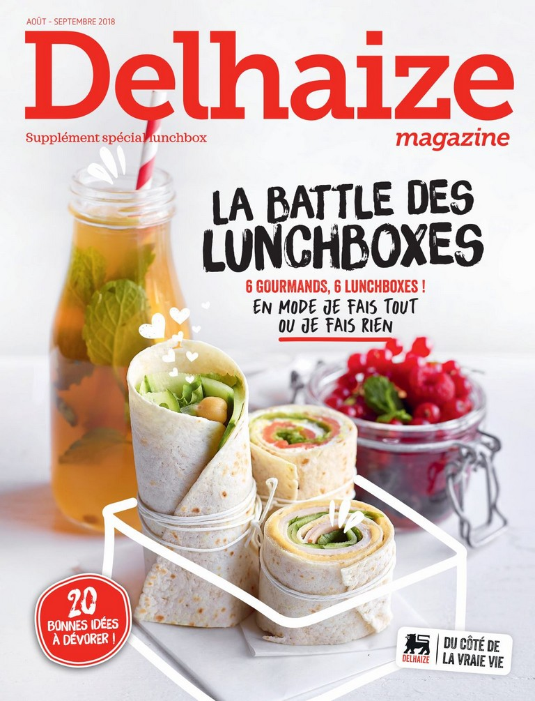 Delhaize Magazine: 2018-08/09 (Suppl�ment sp�cial lunchbox)