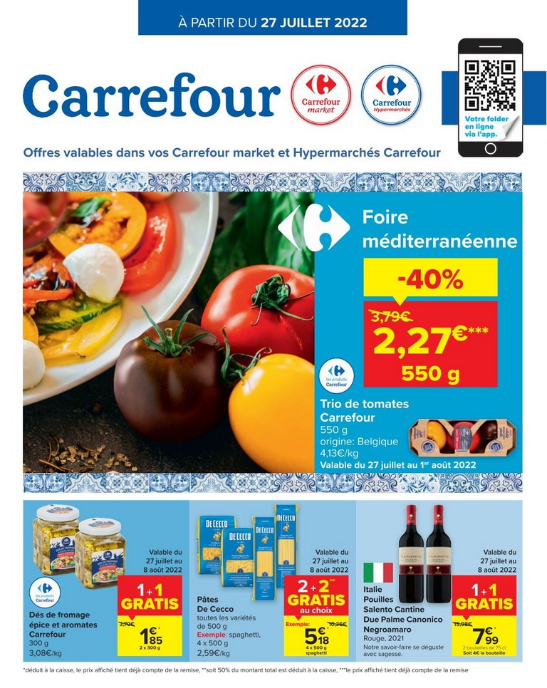 Carrefour Offres 23-09-2020 - 28-09-2020