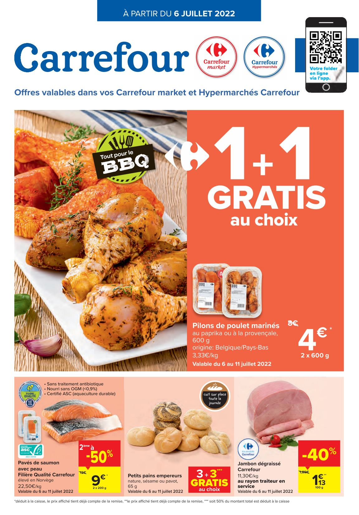 Carrefour Petits attentions Grandes f�tes ! 02-12-2020 - 03-01-2021