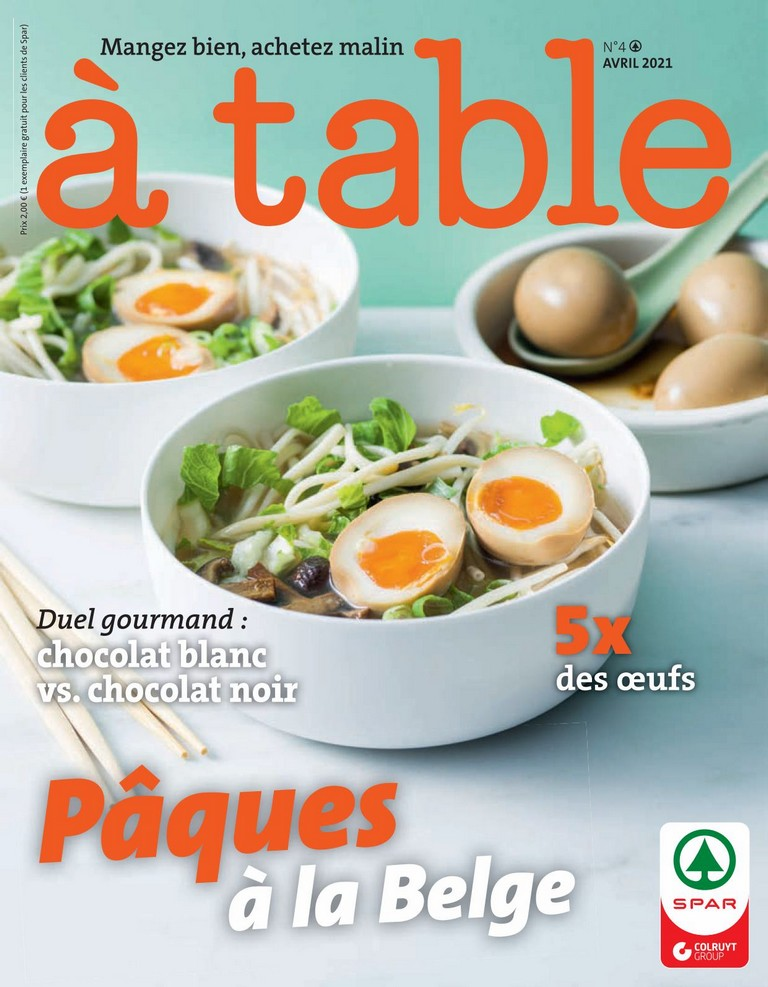 Spar: � table 2021-04