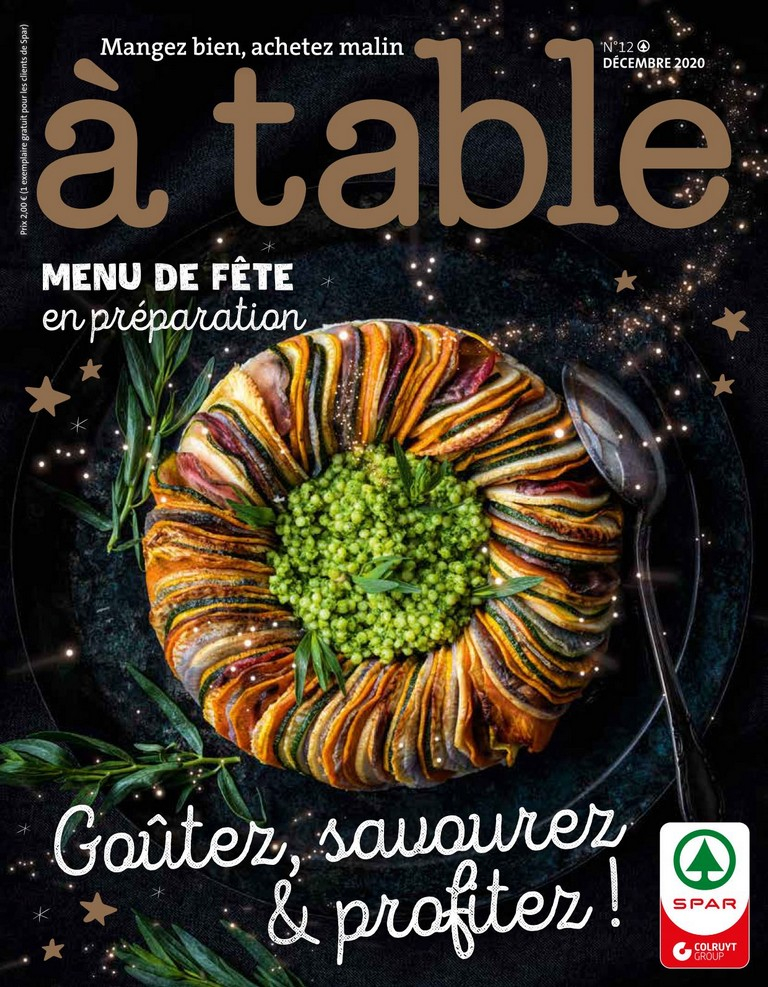 Spar: � table 2020-12