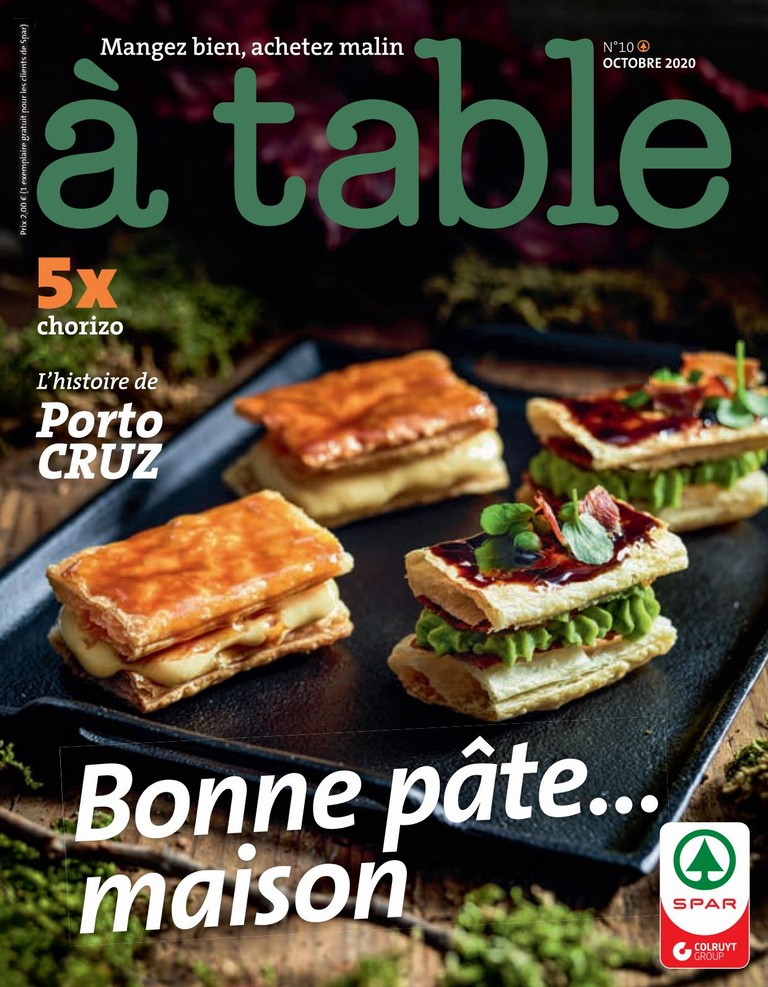 Spar: � Table 2020-10