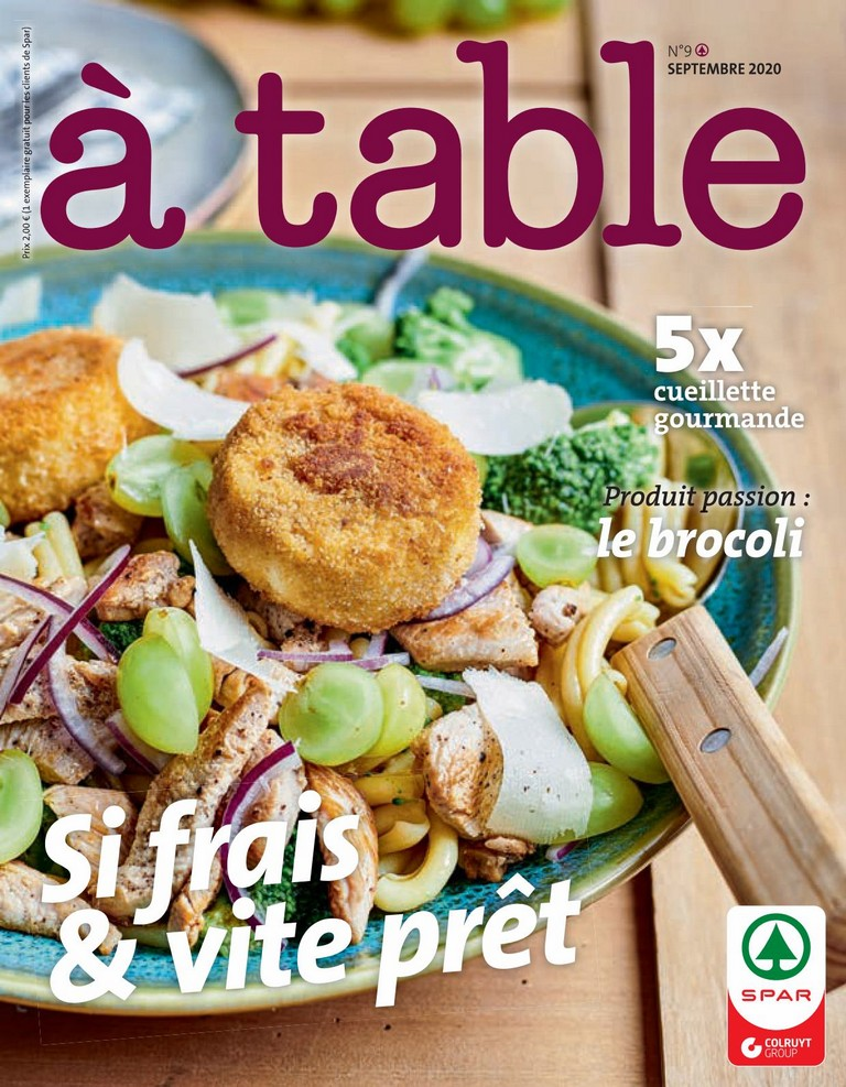 Spar: � Table 2020-09