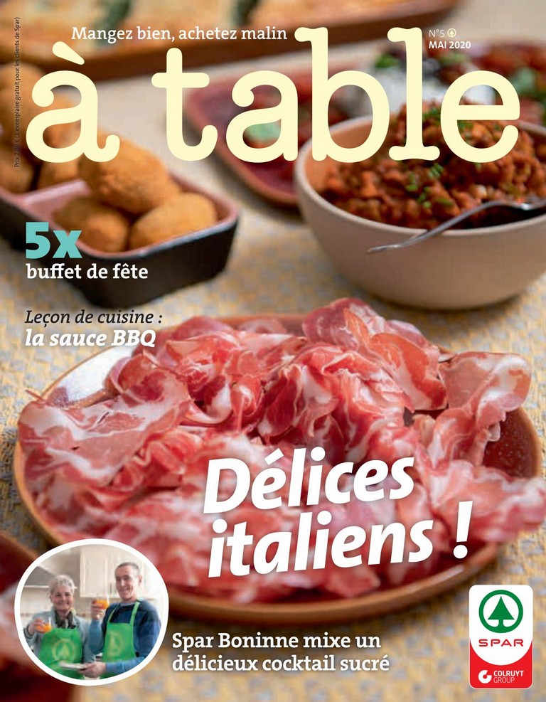 Spar: � table 2020-05