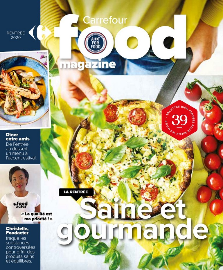 Carrefour - Food Magazine - Septembre 2020