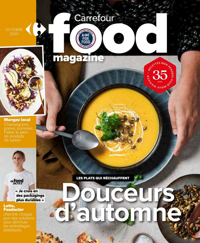 Carrefour - Food Magazine - Octobre 2020