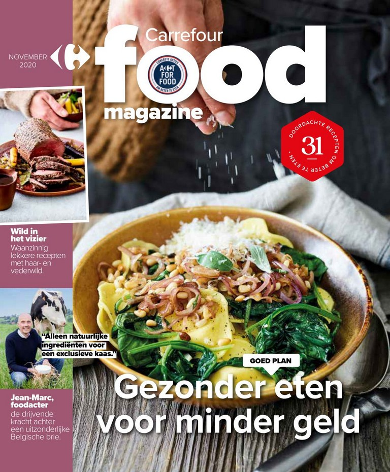 Carrefour - Food Magazine - November 2020