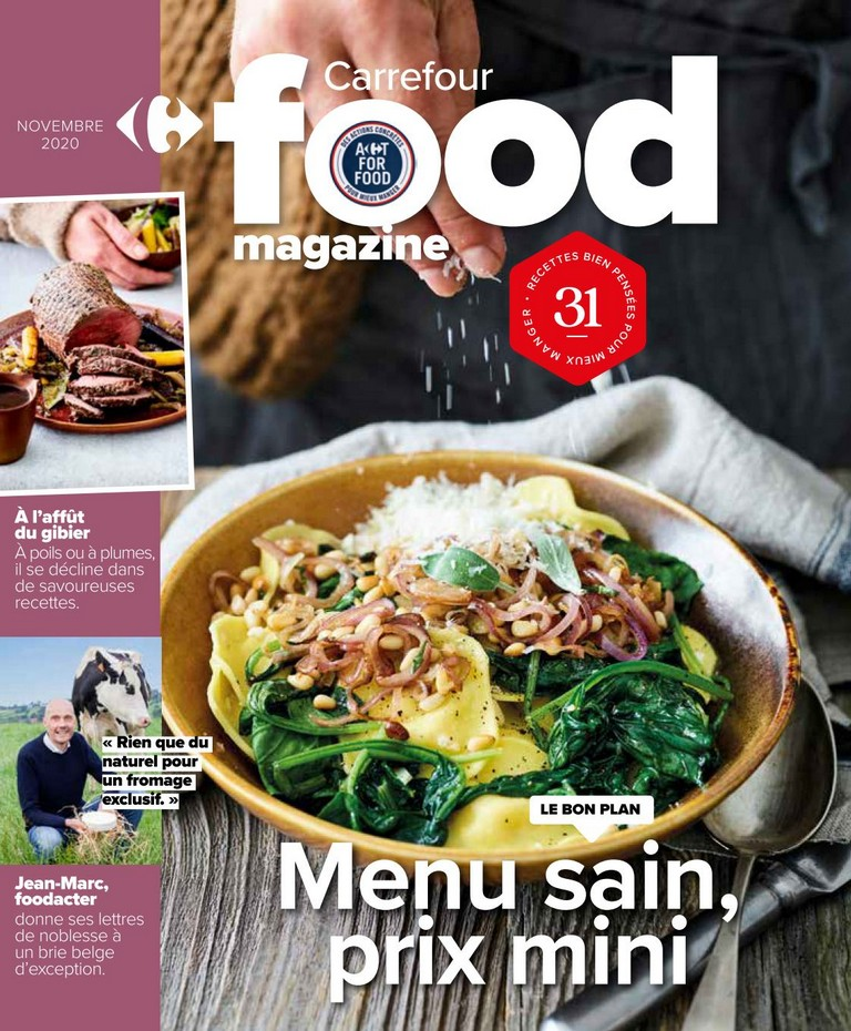 Carrefour - Food Magazine - Novembre 2020