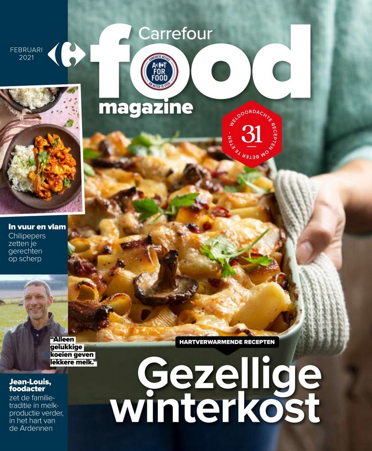Carrefour - Food Magazine - Februari 2021