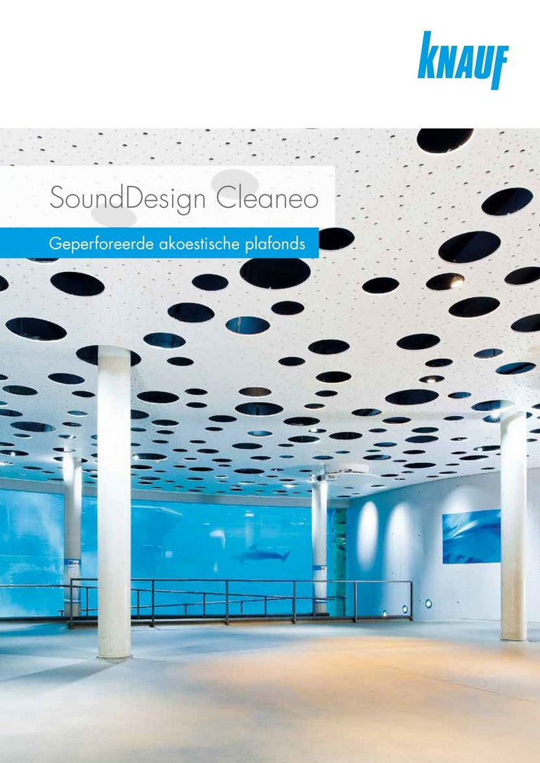 Knauf SoundDesign Cleaneo