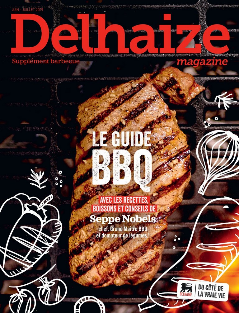 Delhaize Magazine: 2019-06/07 (Suppl�ment barbecue)