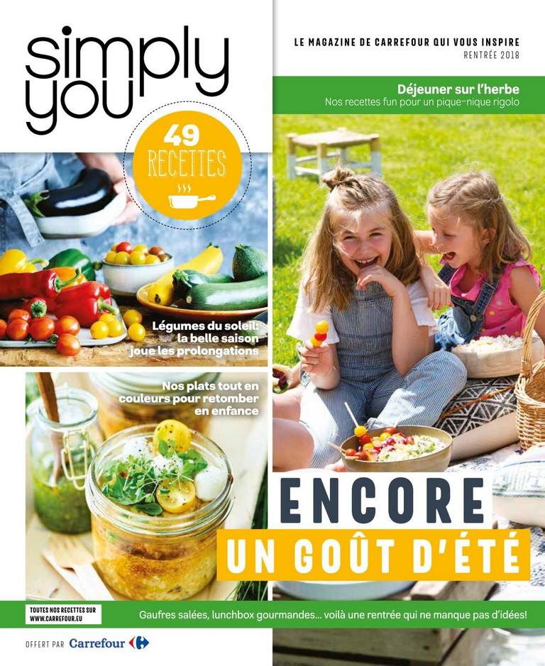 Carrefour: Simply you 2018-09