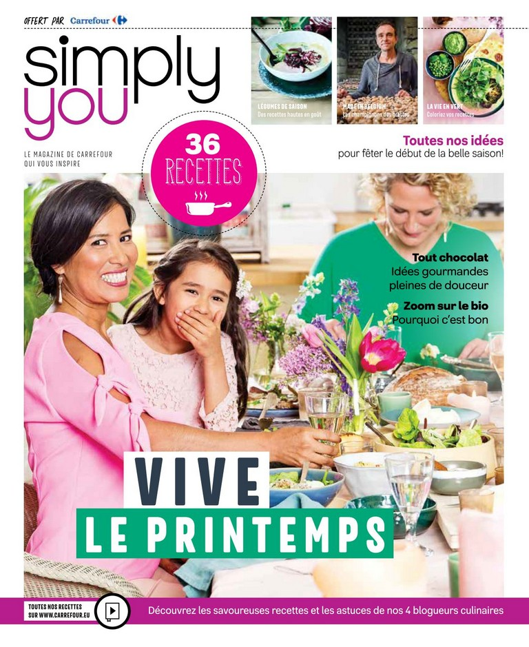 Carrefour: Simply you 2018-03